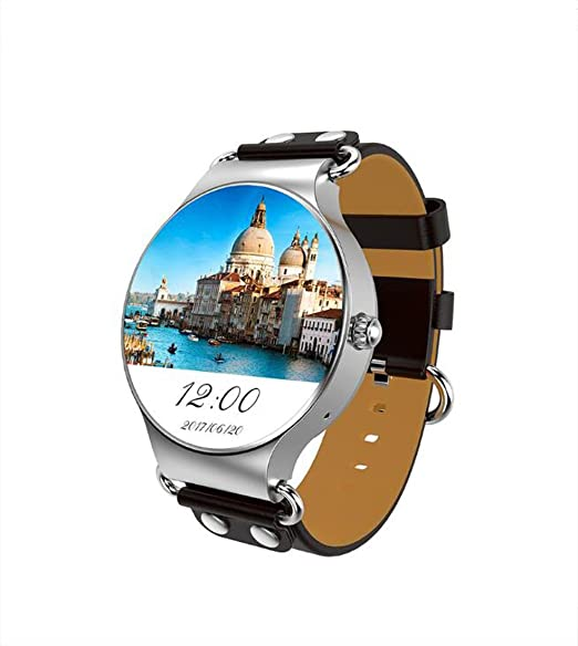 Reloj Inteligente Pulsera GFT Reloj Inteligente 3G WiFi Ritmo cardíaco Paso GPS Posicionamiento KW98 Reloj de