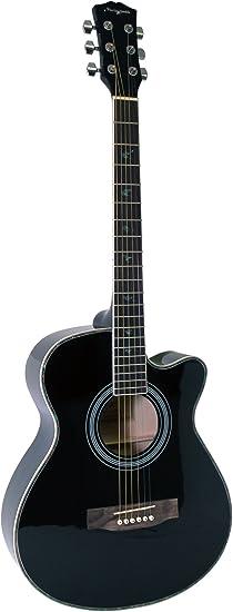 Martin Smith W-401E-BK Guitarra acústica eléctrica - color negro: Amazon.es: Instrumentos musicales