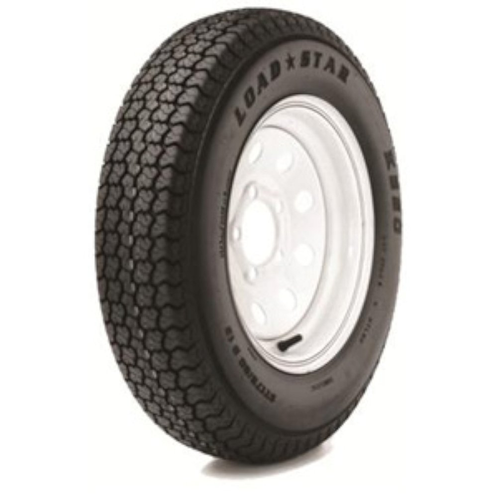 Loadstar Tires 3S650 ST205/75D15 C/5H SPK GALV LOAD