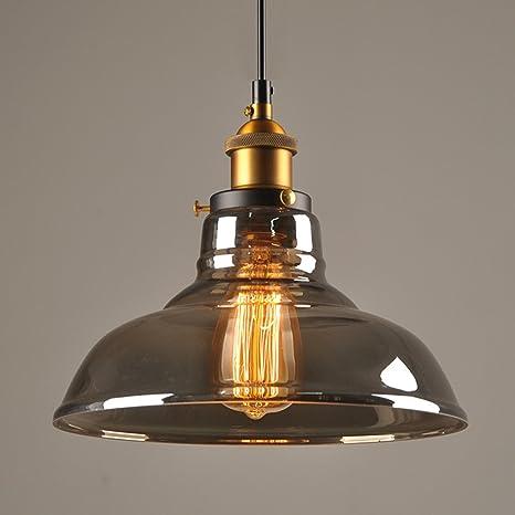 Pantalla de vidrio para lámpara, Industrial, estilo Simple ...