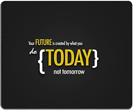Amazon Com Inspirational Motivational Wallpaper New Year Mouse Pad Durable Office Accessory Desktop Laptop Mousepad And Gifts For Gaming Mouse Pads Computers Accessories
