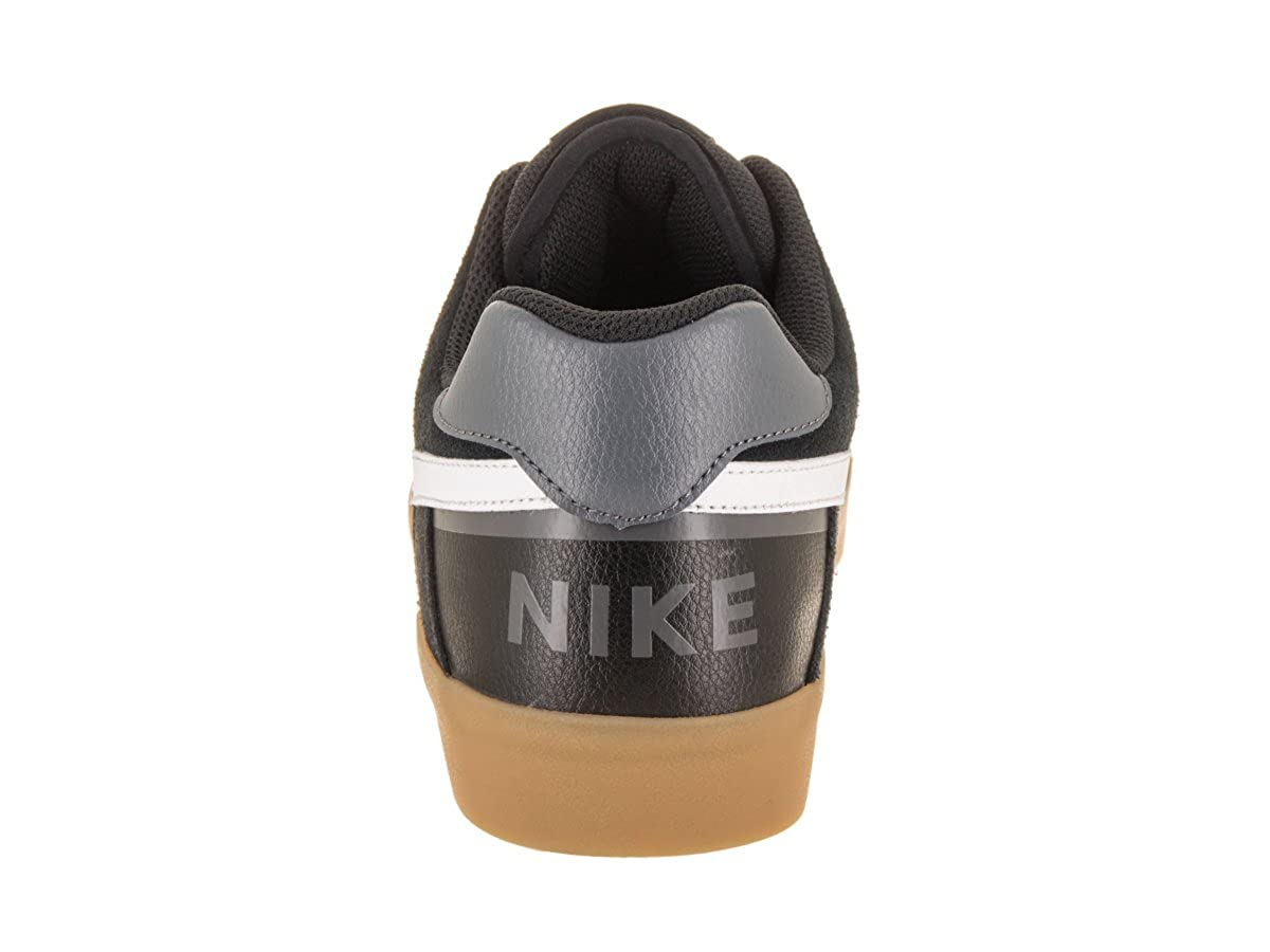 Amazon.com | NIKE Mens SB Delta Force Vulc Black/White Gum Light Brown Skate Shoe 10 Men US | Fashion Sneakers