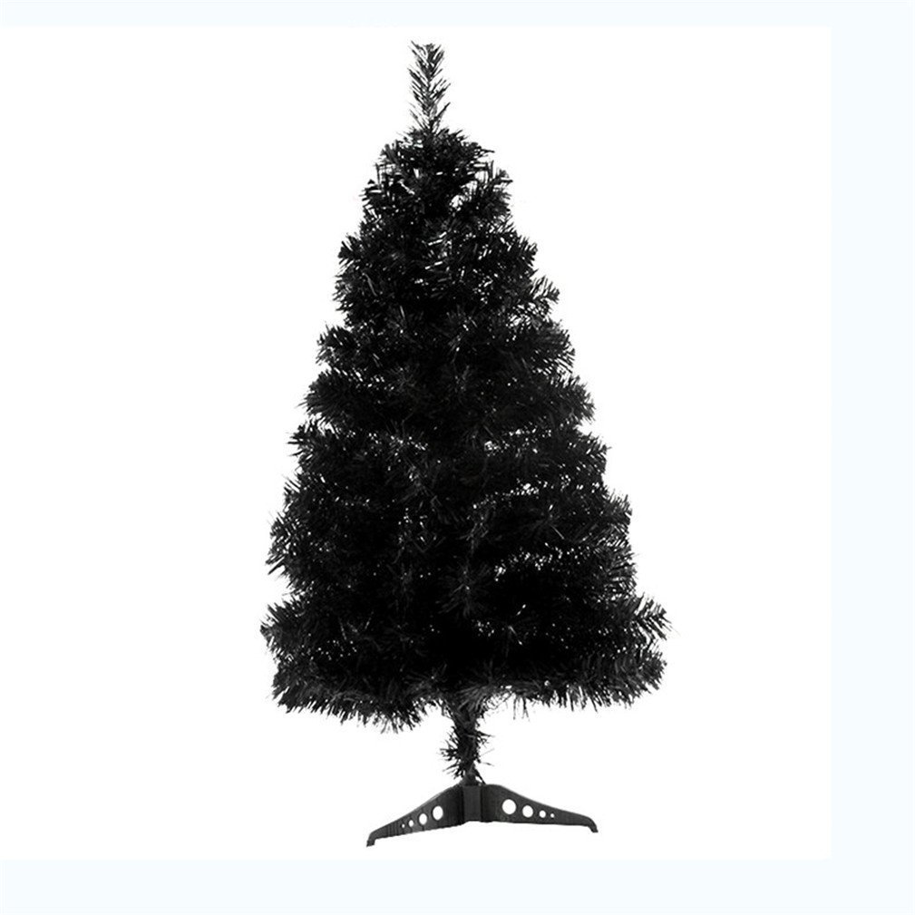 Christmas Tree with Stand 4 Feet Black