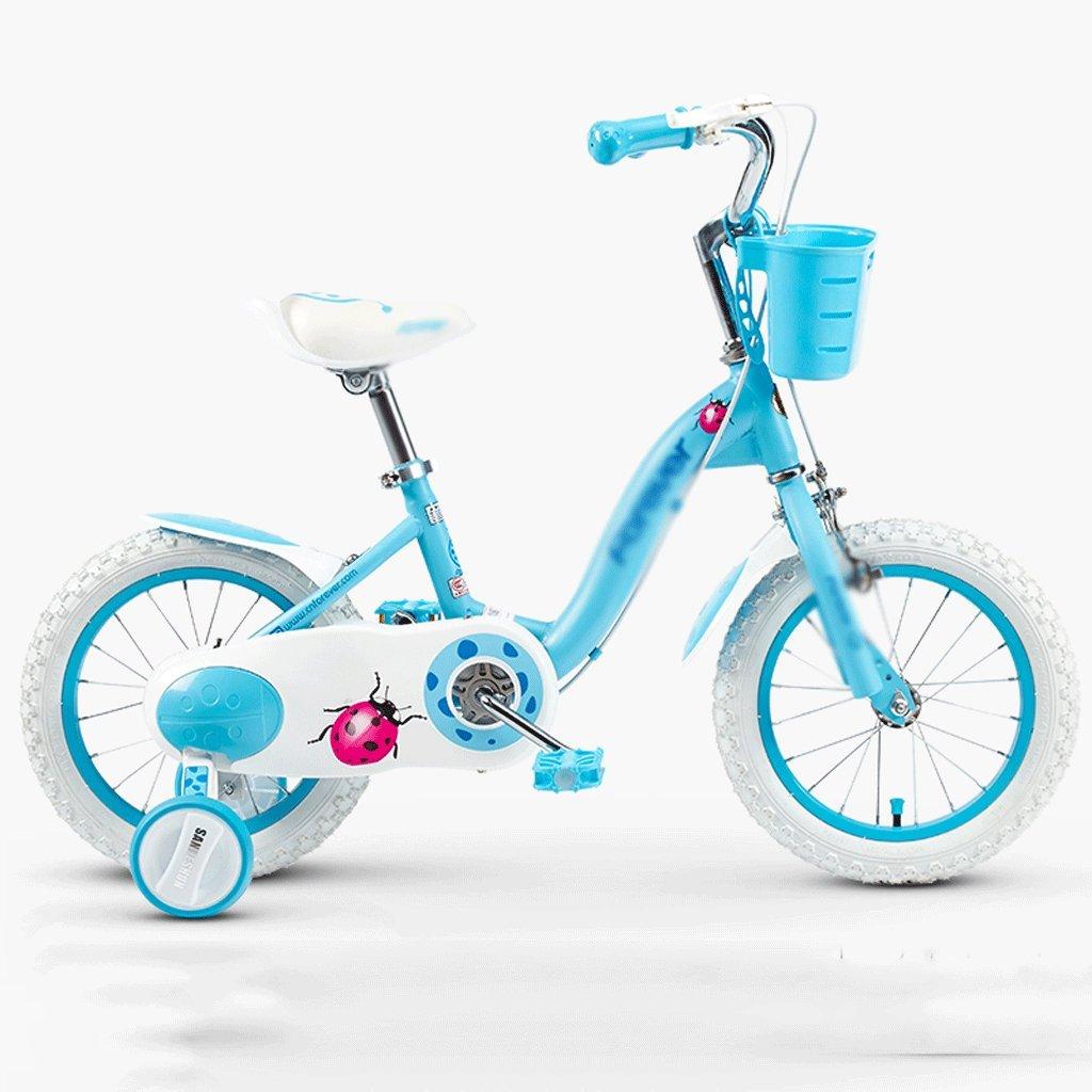 自転車 子供の自転車の女の子2-3-4-6-7-8-9-10歳の赤ちゃんのペダル自転車の子供の赤ちゃんのキャリッジ (サイズ さいず : 18 inch) B07DYGJD93 18 inch 18 inch
