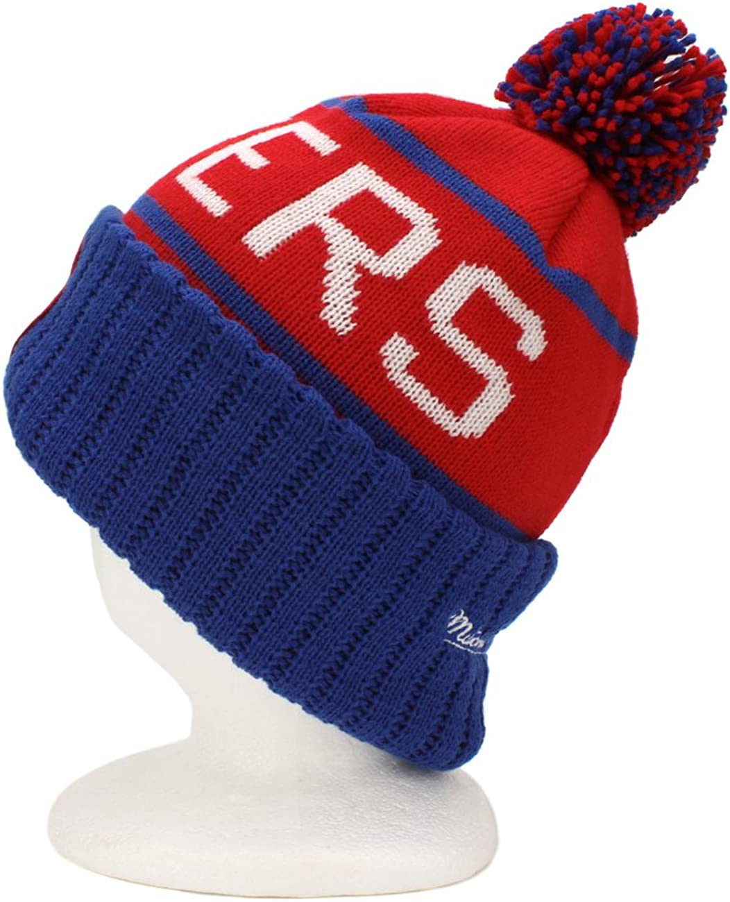 Mitchell /& Ness Los Angeles Clippers Vintage Cuffed Pom Knit Cap//Beanie