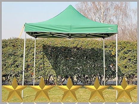Plegable tienda Cenador plegable de 3 x 3 m 3 x 3 m verde Pabellón ...