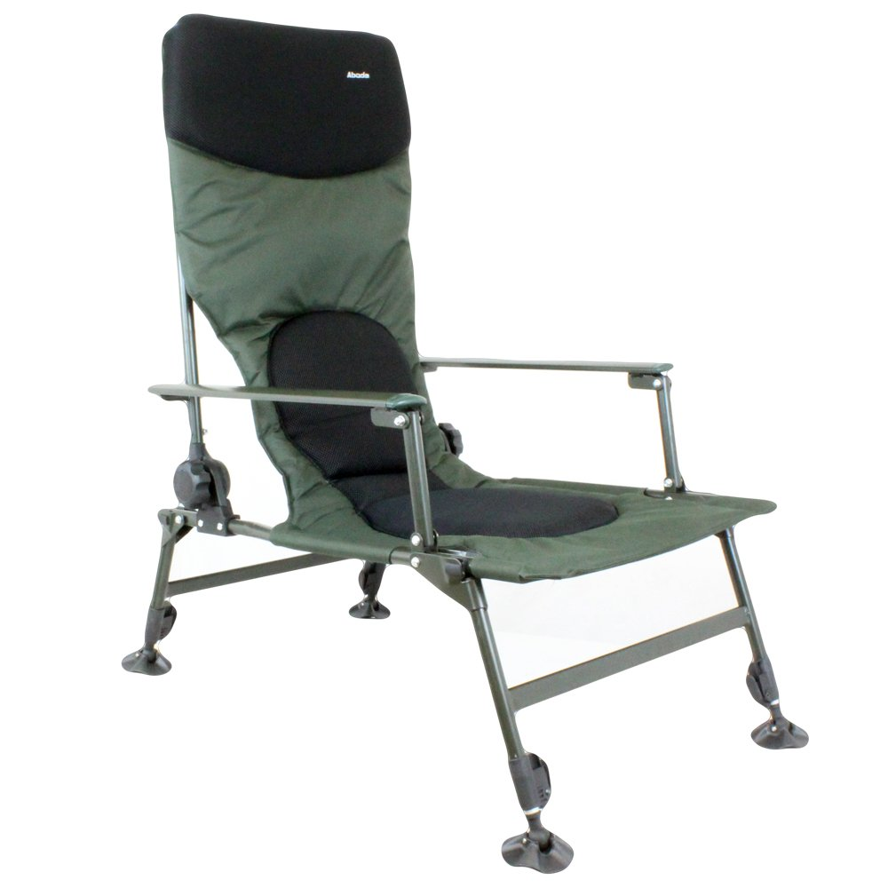 Admirable Abode Tall Boy Easy Arm Carp Fishing Camping High Back Recliner Chair Squirreltailoven Fun Painted Chair Ideas Images Squirreltailovenorg