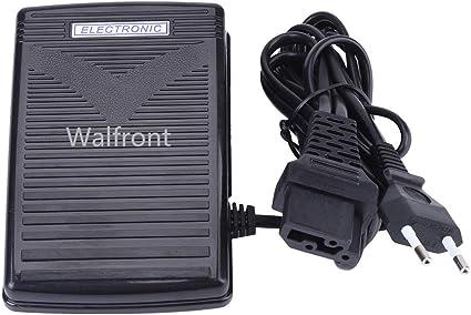200-240V EU plug Pedal de Control del Pie, para Casero Máquina de Coser con Cable