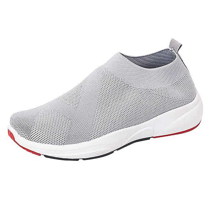c24d0fc198d7b Amazon.com: Sherostore ♡ Women's Slip-On Sneakers Mesh Loafer ...