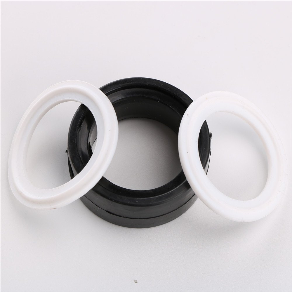 1.5 inch Silicone Seal Stainless Steel 304 OD:51MM,ID:35MM,3 position 1PCS EPDM Seal 2PCS PTFE Gasket 1-1//2 1.5 Tri Clamp Sanitary Butterfly Valve