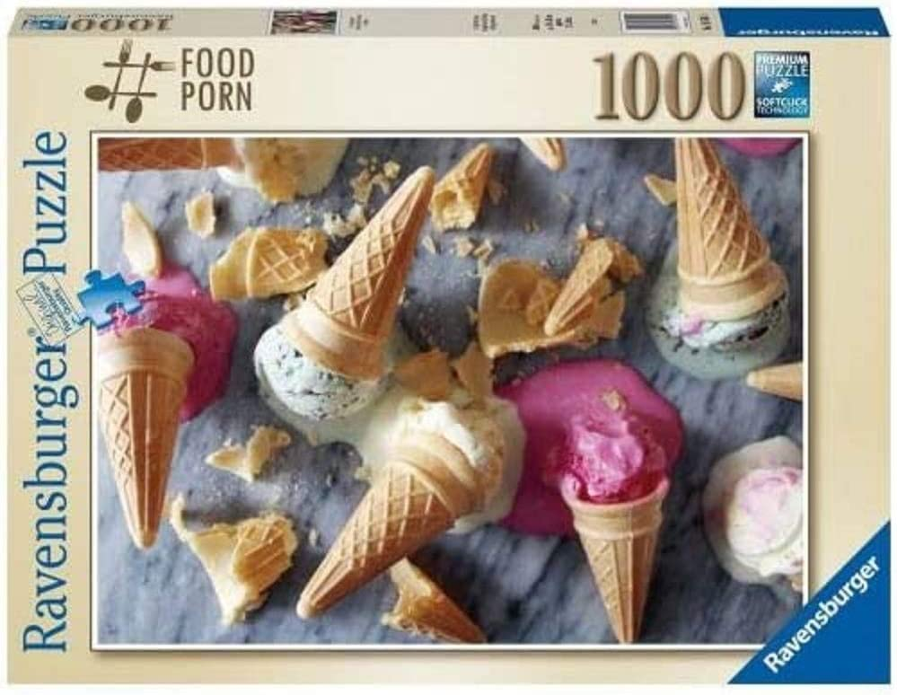 Ravensburger Puzzle I Scream for Ice Cream Puzzle 1000 pcs Photo & Landscapes, Adult Puzzle