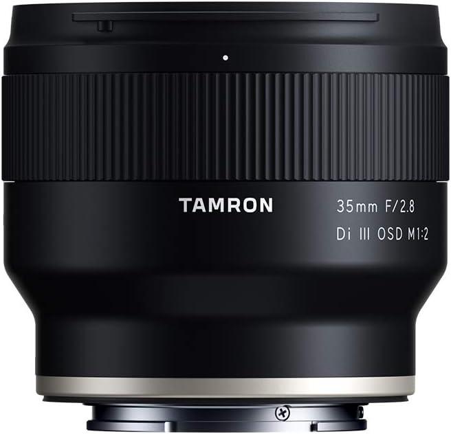 Tamron 35mm f//2.8 Di III OSD M1:2 Lens for Sony Full Frame//APS-C E-Mount