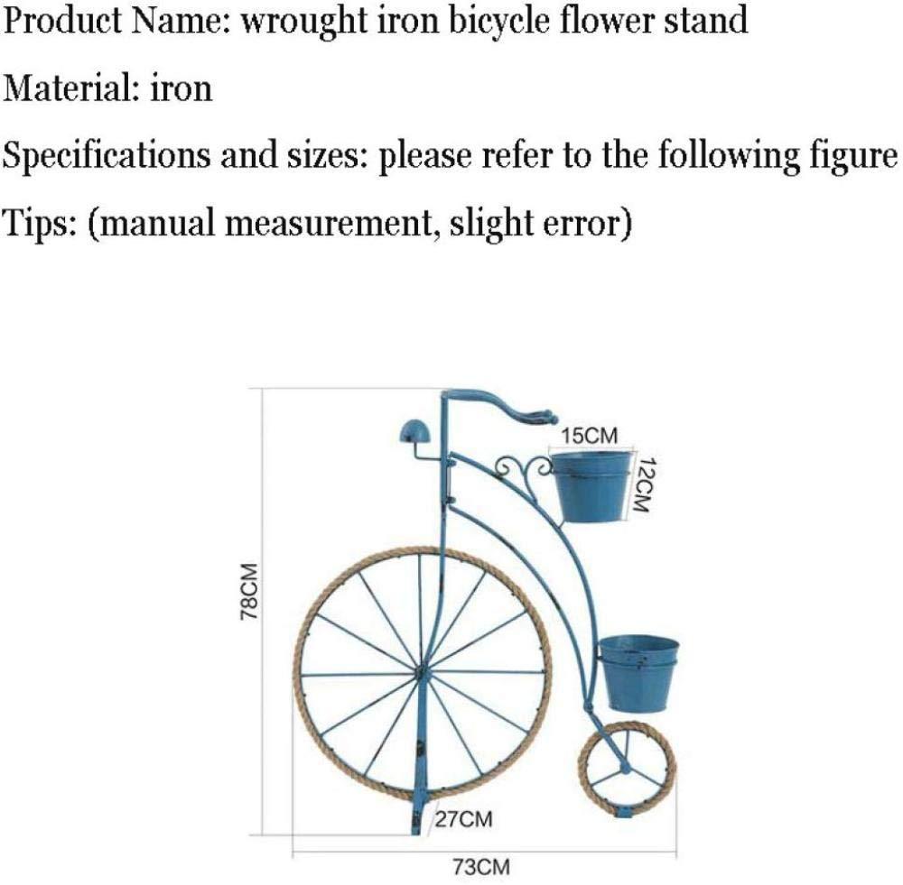 ANXWA Soporte para Plantas Maceta De Jardín para Bicicletas De ...