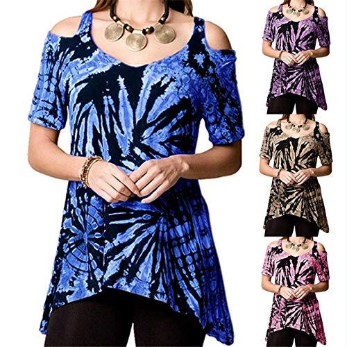 Bellelove Bretelles À T Femme Bleu Avec Chemisier Pour D'été shirt vêtements xrnrgwqSA