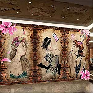 Fotomurali 3D Papel tapiz personalizado 3d mural coreano ...