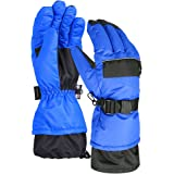 Terra Hiker Waterproof Ski Gloves, Thermal Thinsulate Gloves for Winter Sports