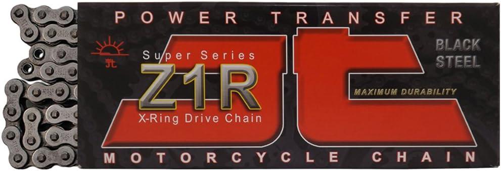 JT Sprockets JTC530Z1R114RL Steel 114-Link Super Heavy Duty X-Ring Drive Chain 530 Z1R