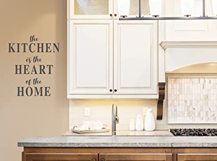 Amazon.com: Story of Home LLC The Kitchen is The Heart of ...