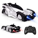 Electric Wall Climber Climbing RC Car, Remote Control Car, Dual Mode 360°Rotating Stunt Car with Remote Control, Head…