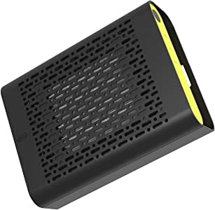 ambohr Car Air Purifier for Auto and Small Space, with True HEPA Filter and ion Generator, for Removes Germs, Smoke, Dust, Pollen, Odors, Mold, for Allergies, Pet Dander, Eliminator for Smokers.