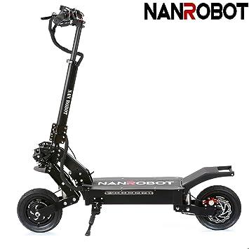 NANROBOT LS5 2000 W Patinete eléctrico Ligero Plegable con ...