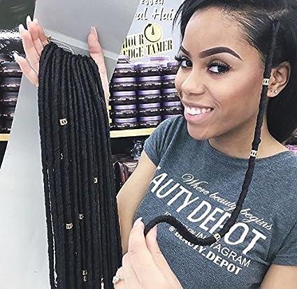 18 (45cm) 100 Grams Synthetic Crochet Braiding Hair HAVANA MAMBO FAUX LOCS (1B/39J) becret 18 FAUX LOCS