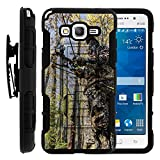 Grand Prime Cover, Swivelling Belt Clip, Full Body Combo High Impact Armor w/ Kickstand - Hunter's Tools Designs - for Samsung Galaxy Grand Prime SM-G530 by MINITURTLE - Camouflage Hunting
