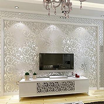 Hochwertig KYDJ ® Schlafzimmer Wohnzimmer Sofa Vlies Tapete Modern Minimalist