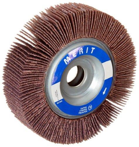 "Merit Grind-O-Flex Abrasive Flap Wheel, 5/8"" Arbor, Round Ho"