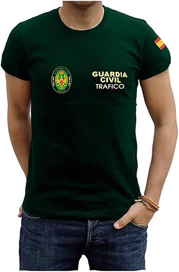 Piel Cabrera Camiseta Guardia Civil Trafico: Amazon.es: Ropa y accesorios