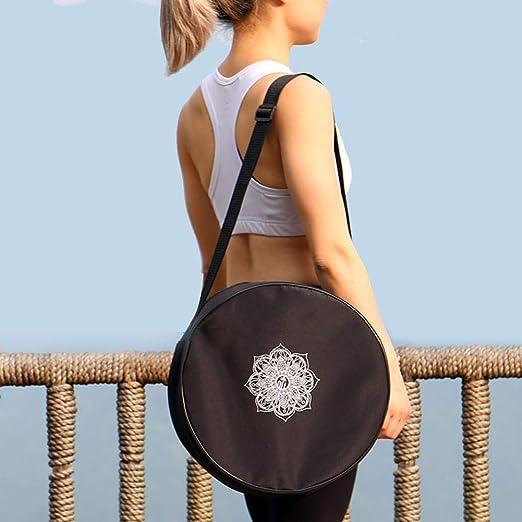 Never-hu Yoga Wheel Dharma Wheel - Bolsa de Transporte para ...