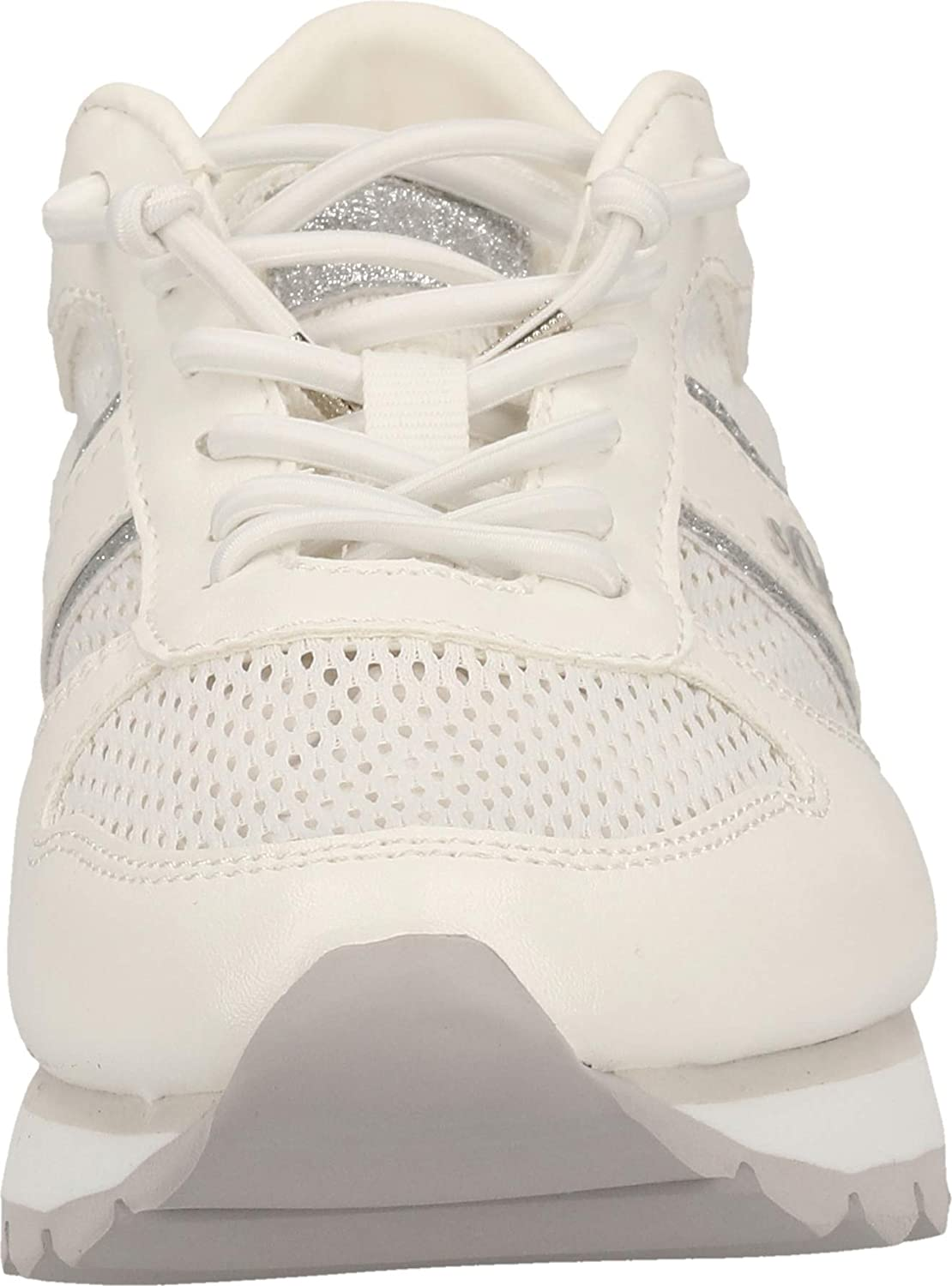 s.Oliver vrouwen 5-5-24635-24 Slip op trainers wit