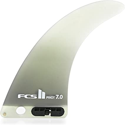 FCS II Clique PG Longboard Fin 7 Dust Red