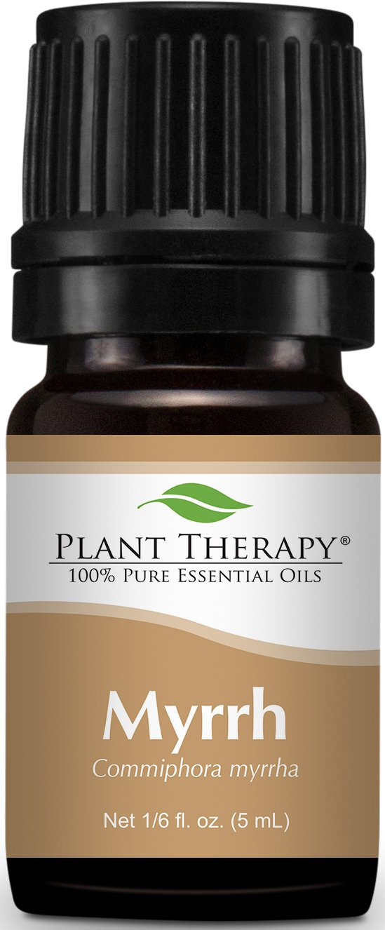 Plant Therapy Myrrh Essential Oil 5 mL (1/6 oz) 100% Pure, Undiluted, Therapeutic Grade