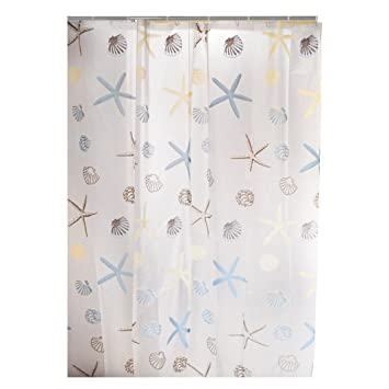HuaForCity Wasserdicht Duschvorhang Waterproof Shower Curtain Size 180 X 240 Cm Reg
