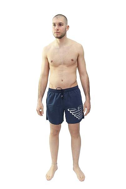 b5157cd13 Emporio Armani Traje de Baño Hombre - Pantalones Cortos, Malla, Logo Grande,  Monocolor: Amazon.es: Ropa y accesorios