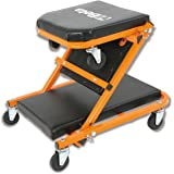 Beta herramientas 3002Creeper y asiento–negro/naranja