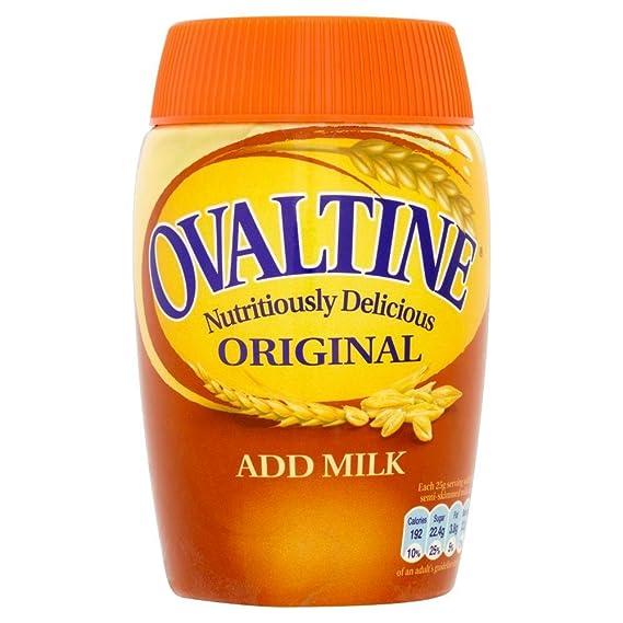 Ovaltine - Original - Bebida de malta con cacao - 300 g - Pack de 3