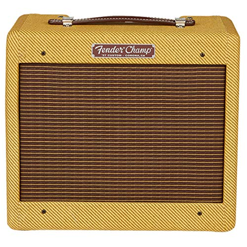 Fender '57 Custom Champ 5W 1x8 Tube Guitar Amp Lacquered Tweed (Best Sounding Tube Mic Preamp Schematic)