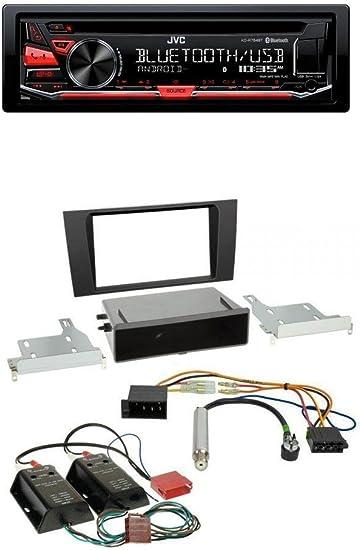 JVC CD//USB//AUX//WMA voiture radioset pour audi a4 b5