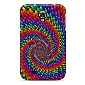 For Galaxy S4 Protector Case Swirling To The Center Phone Cover