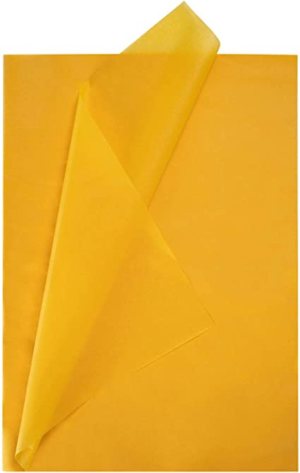 Tissue Paper for Shipping Gift Wrap Tissue Paper Gift Paper Tissue Solid Yellow 100 Sheets Tissue Paper FREE SHIPPING