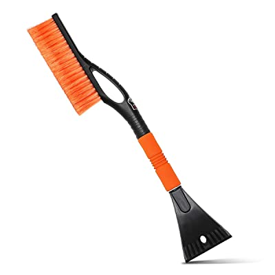 MATCC Snow Brush and Ice Scraper for Car Snow Broom Windshield Scraper Snow Removal Brush for Car: Automotive