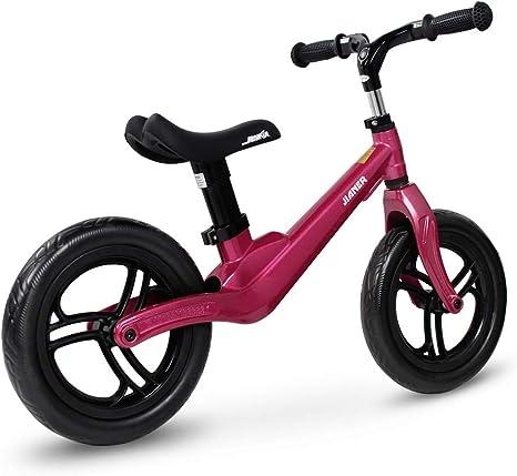 SENQI Bicicleta de equilibrio para niños de 12 pulgadas, sin pedal ...