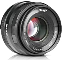 Meike MK-35mm F/1.4 Large Aperture Manual Focus Lens for Sony E-Mount Mirrorless Cameras A7III A9 NEX 3 NEX 3N NEX 5 NEX 5T NEX 5R NEX 6 7 A5000 A5100 A6000 A6100 A6300 A6500
