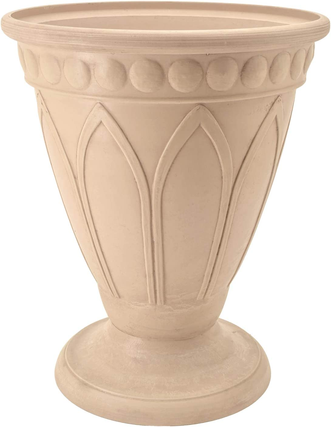 PSW HU40B Bristol Urn Planter 18-Inch Beige Cheap mail order specialty store Max 80% OFF by 16