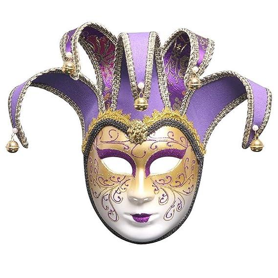 HSZH pintado máscara de Venecia - máscara de Halloween - máscara ...