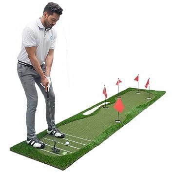 51732129af estera de golf Barras De Entrenamiento Con Barra Extrapolada Para Interior  Del Campo De Golf Barra