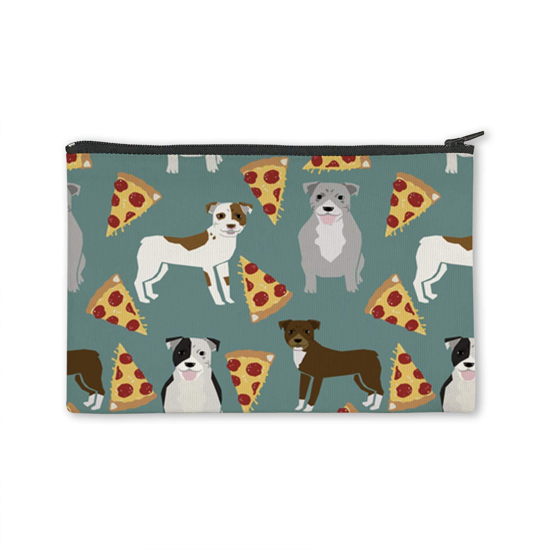 XREE Pitbull Terrier - Monedero de lona para pizza, con ...