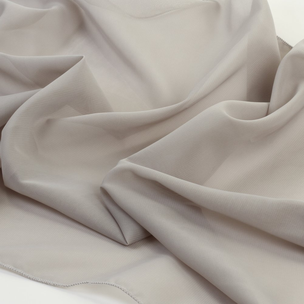 Koyal Wholesale Chiffon Table Runner 18 x 180-Inch Extra Long, Wedding Runners, Holiday Table Runners, Long Table Runners (Gray, 18 x 180-Inch)